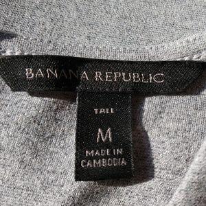 Banana Republic Tops - BANANA REPUBLIC CROP TANK HTR GRAY NWOT
